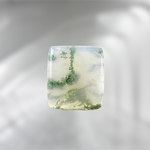Natural Moss Agate Code  56