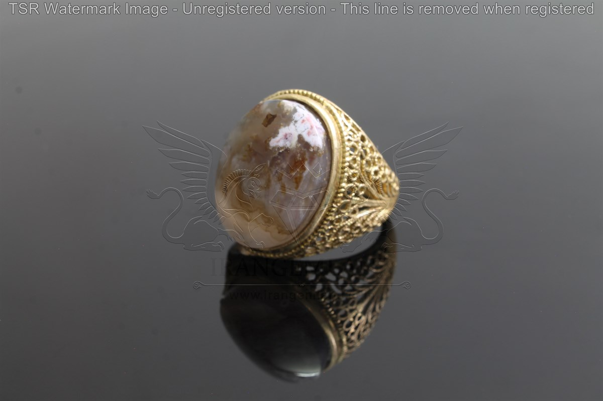 Brass tapestry ring code 0057