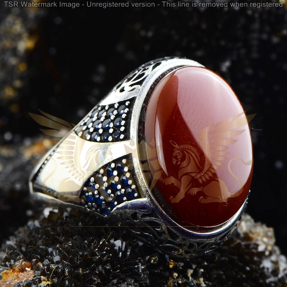 agate ring code 0017