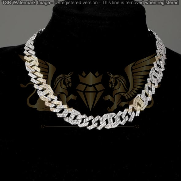 Silver chains code 0038