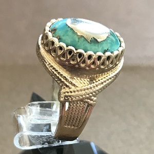 turquoise ring 1571