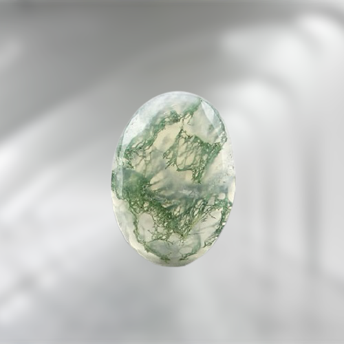 Natural Moss Agate Code  39