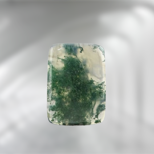 Natural Moss Agate Code 10