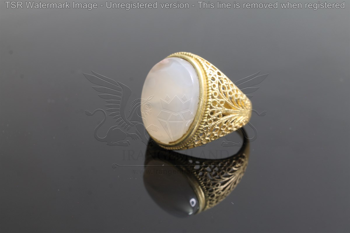 Brass tapestry ring code 0056