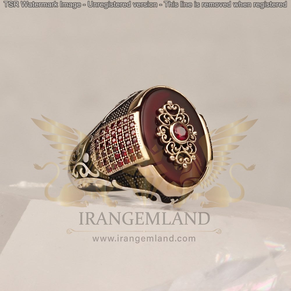 agate ring code 0037