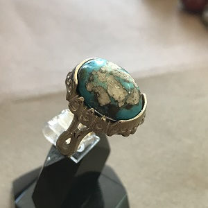 turquoise ring 1573