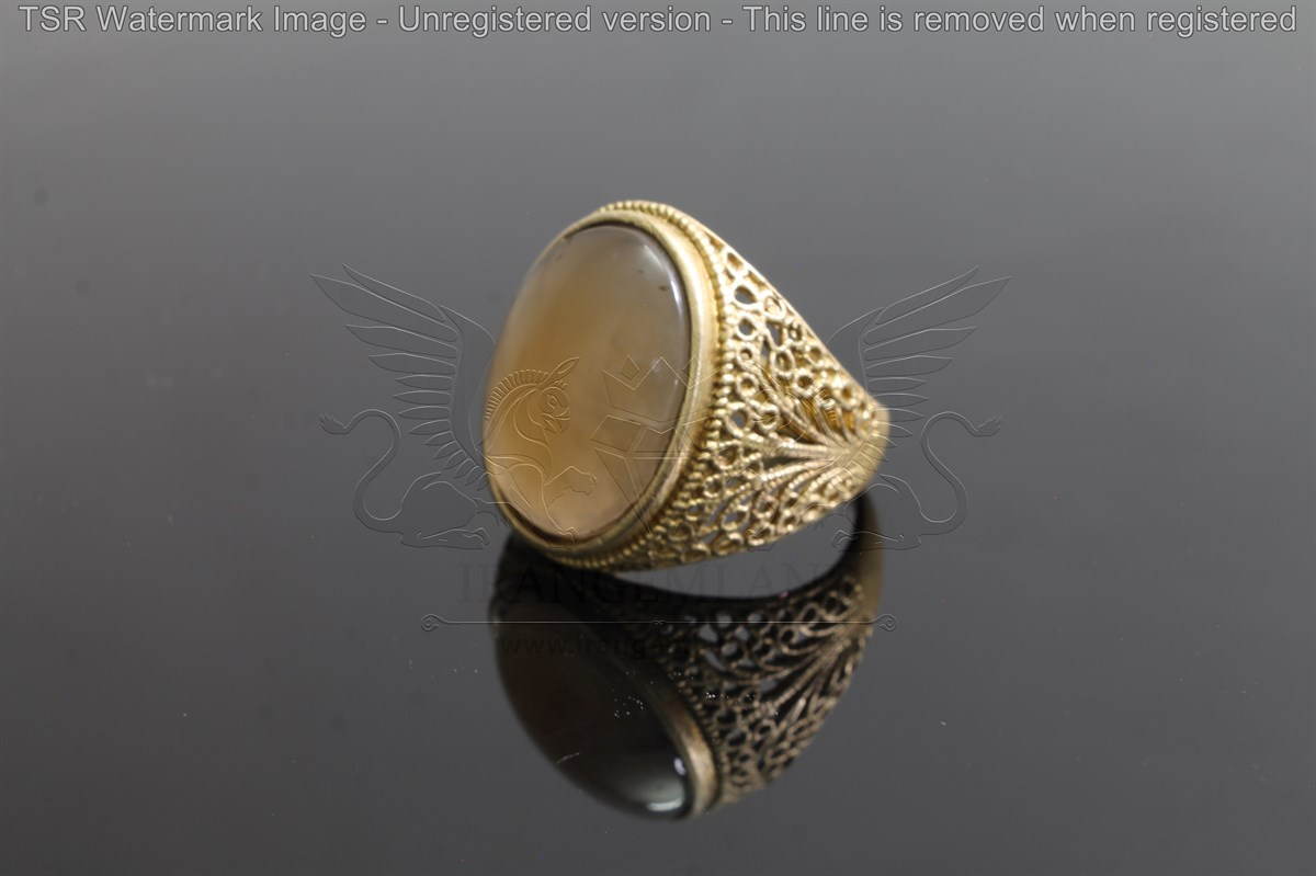 Brass tapestry ring code 0053