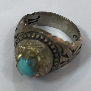 turquoise ring 15252