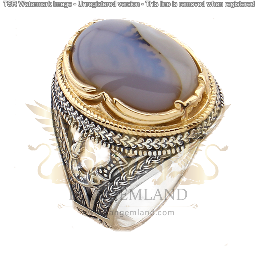 agate ring code 0016