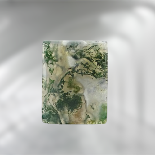Natural Moss Agate Code  50