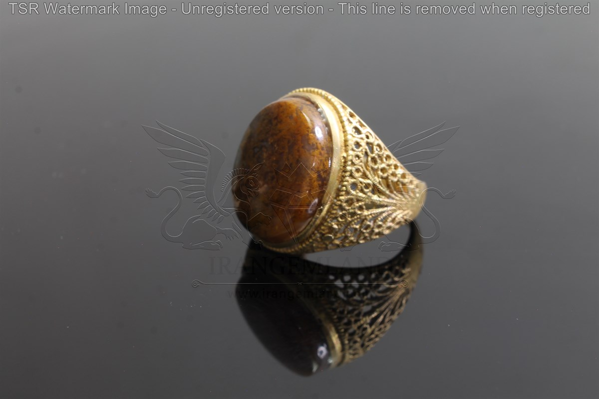 Brass tapestry ring code 0055